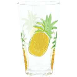 Pineapple Highball Plastic Glass - 680ml