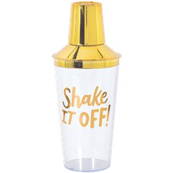 Shake It Off! Cocktail shaker