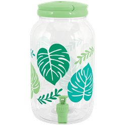 Jungle Palm Drink Dispenser - 3.8ltr