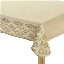 Gold Damask Tablecover - 1.2m x 1.8m