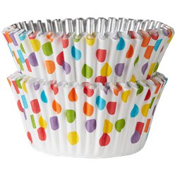 Rainbow Dot Cupcake Cases - 5cm