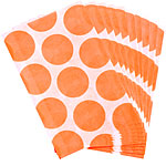 Orange Peel Polka Dot Paper Sweet Bags - 17cm