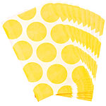 Sunshine Yellow Polka Dot Paper Sweet Bags - 17cm