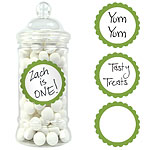 Candy Buffet Sweet Labels - Kiwi