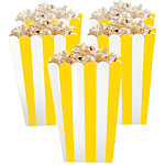 Sunshine Yellow Popcorn Boxes - 13cm