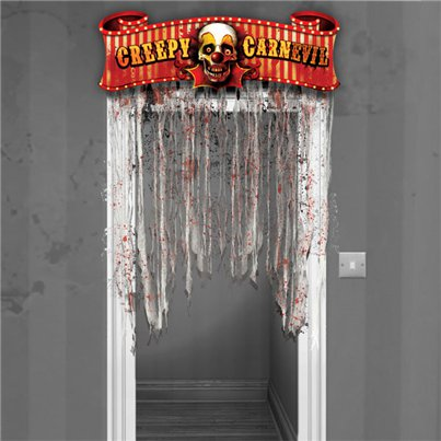 'Creepy Carnevil' Door Decoration - 1.37m