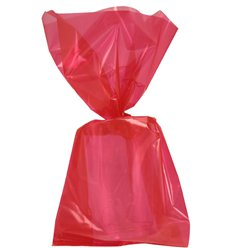 Red Large Cello Party Bags - 29cm