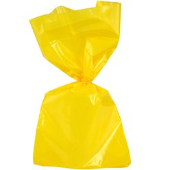 Yellow Large Cello Party Bags - 29cm