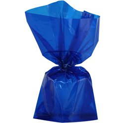 Royal Blue Large Cello Party Bags - 29cm