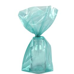 Robins Egg Blue Small Cello Party Bags - 24cm