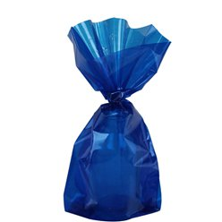 Royal Blue Small Cello Party Bags - 24cm