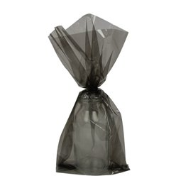 Black Small Cello Party Bags - 24cm