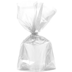 Clear Large Cello Party Bags - 29cm