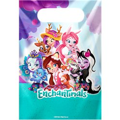 Enchantimals Plastic Party Bags
