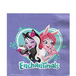Enchantimals Paper Napkins - 33cm