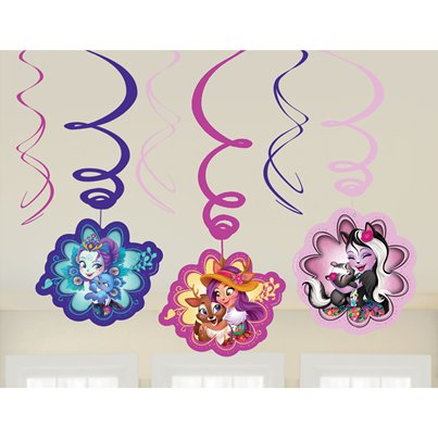 Enchantimals Hanging Swirl Decorations - 60cm