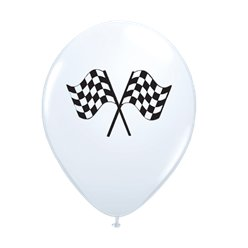 "Grand Prix 11"" Latex Balloons"
