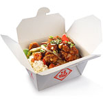 Chinese Party Food Box - 10.5cm