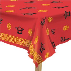 Chinese New Year Plastic Tablecover -1.37m x 2.74m