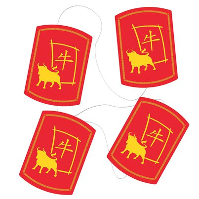 Chinese New Year 2021 Year of the Ox String