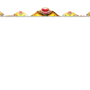 Chinese New Year Dragon Head Banner - 1.4m