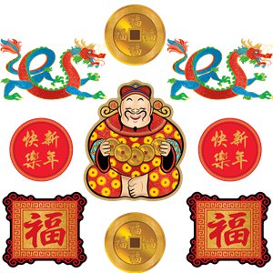 Chinese New Year Cut Outs