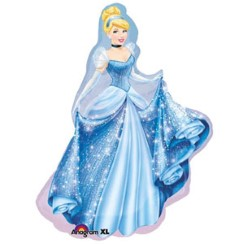 "Cinderella Supershape Balloon - 33"" Foil"