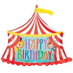 "Circus Supershape Balloon - 28"" Foil"