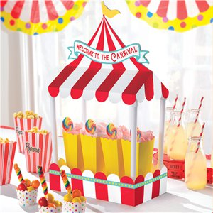 Circus Carnival Table Centrepiece Decoration - 21cm x 18cm