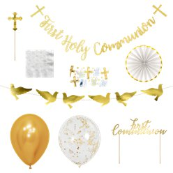 First Holy Communion Decoration & Accessories Kit