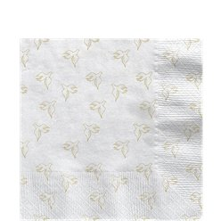 First Holy Communion Gold Dove Lunch Napkins