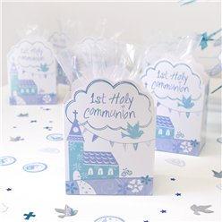 First Holy Communion Blue Favour Boxes