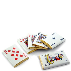 Chocolate Playing Card Neopolitans - Multipack