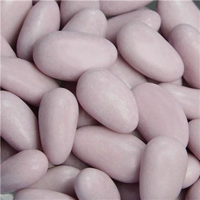Lilac Sugared Almonds - 1kg - 250 per box