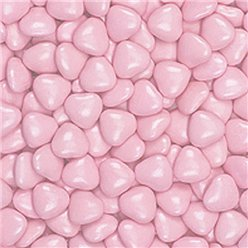 Pink Chocolate Hearts - 1kg