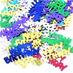 Multi Coloured Happy Birthday Confetti