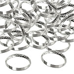 Silver Wedding Rings Table/Invite Confetti