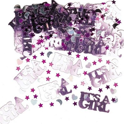 Its a Girl Table/Invite Confetti