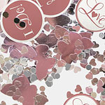 'I Do' Butterfly Baby Pink Wedding Table Confetti