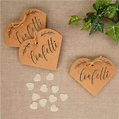 Hearts & Krafts Tissue Confetti