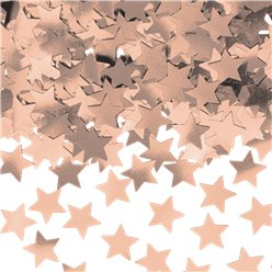 Rose Gold Star Confetti - 14g