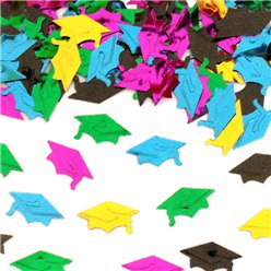 Mini Graduation Hat Confetti - 14g
