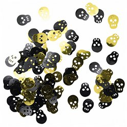 Black and Gold Pirate Confetti - 14g Bag