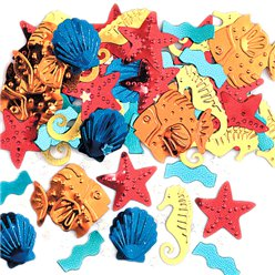 Sea Life Table/Invite Confetti