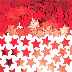 Red Stardust Table/Invite Confetti