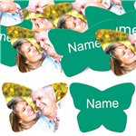 Emerald Butterfly Personalised Confetti