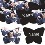 Black Butterfly Personalised Confetti