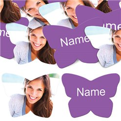 Purple Butterfly Personalised Confetti