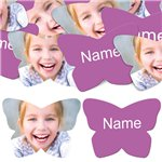 Radiant Orchid Butterfly Personalised Confetti