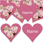 Honeysuckle Heart Personalised Confetti
